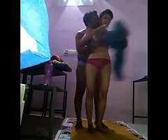 Indian teacher Fucks Student Nearby Saree Accouterment 2