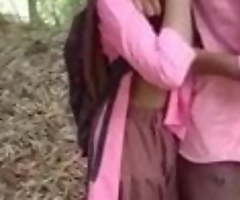 Vilupuram tamil technological college couple loves coitus apropos woods
