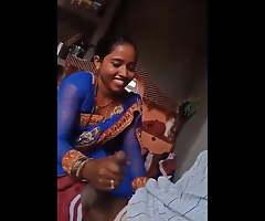Desi Bhabhi Giving Handjob With her Lover