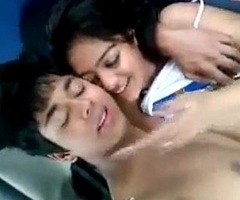 crestfallen desi Indian legal age teenager exposed in car