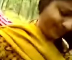Indian village Making love nigh friend'_s juvenile sister