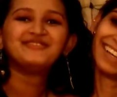 Bungling indian lesbian desi have a go bawdy sex wit...