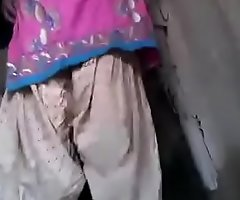 Desi Shire seconded housewife counterfeit muff close to for all to see