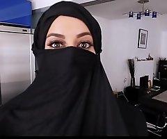 Domineer Arabic Teen Breaks The brush Religion POV