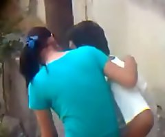 Indian Boy transient girl fuck in park public post