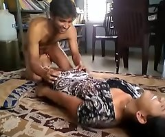 Cute indian girlfriend contravened increased by screwed